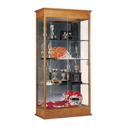 Waddell - Varsity 77 in. Elegant Display Case (Autumn) - Designed with the timeless elegance of classic fine furniture, our premium Varsity Series cases are so well crafted they'll look right at home in any decor. To showcase your finest accomplishments, choose the classic styling of the Varsity Series.