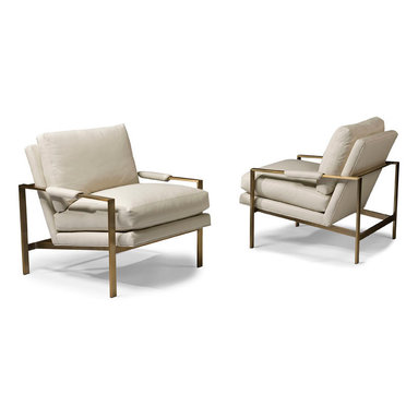 Thayer Coggin - Design Classic 951 Lounge Chairs by Milo Baughman (bronze) from Thayer Coggin - Thayer Coggin Inc.