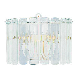 Volume Lighting - Volume Lighting V3038 5 Light 1 Tier Chandelier with Clear Beveled Glass Shade - Five Light 1 Tier Chandelier with Clear Beveled Glass ShadeGive your home a fresh new look with this 5 light chandelier featuring 1 tier and clear beveled glass.Features: