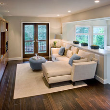 Contemporary Family Room by Shirley Parks Design