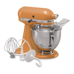 KitchenAid Artisan Series Mixer - This iconic mixer graces the counters of more kitchens on Houzz than I care to count. It's a classic, not only because it's great at what it does, but also because it looks good doing so (in a rainbow of available colors, of course).