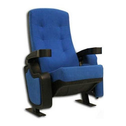 Seatcraft - First Class Movie Theater Chair - BS831-Blue - First Class Collection