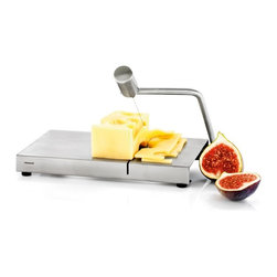 Blomus - Blomus Cheese Slicer - Blomus stainless steel cheese slicer. Includes 2 spare wire.