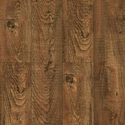 Vinyl / Waterproof Flooring - INNOcore WPC Rustic Stonehouse Oak Waterproof Engineered Vinyl with Attached Pad