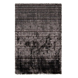 Surya - Merlot Hand Woven Black & Charcoal Area Rug - This hand woven area rug from Merlot collection is perfect solution for indoors design. You can use it anywhere indoors, this rug offers latest trends in fashion and interior design.Features:
