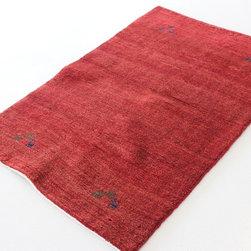 eSaleRugs - 3' 3 x 4' 10 Kashkuli Gabbeh Persian Rug - SKU: 110909980 - Hand Knotted Kashkuli Gabbeh rug. Made of 100% Hand Spun Wool. Brand New.