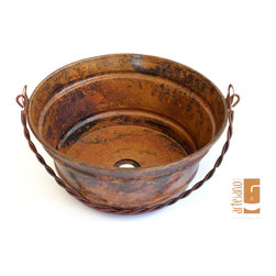 NEW PRODUCTS 2013 - BATHROOM SINKS - BUCKET ONE