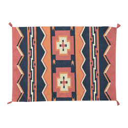 1800-Get-A-Rug - Navajo Design Oriental Rug Hand Woven Flat Weave Sh11397 - About Flat Weave