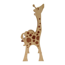 ChairZü - GIRAFFE CHAIR, -Standard- - Meet OoloO! This little longfellow is made in America by True Craftsmen.