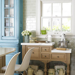 traditional kitchen by Dionne Trifiro