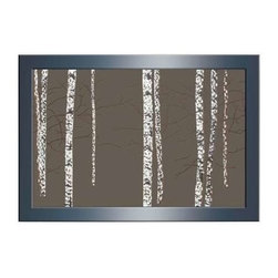 Benzara - Abstract Classic Wood Mirror Wall Decor - Abstract Classic Wood Mirror Wall Decor. Introducing this classic abstract wall decor to refurbish your walls artistically. Some assembly may be required.