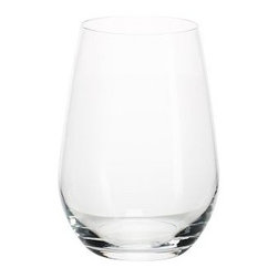 "Schott Zwiesel Stemless White Wine Glasses, Set of 6 - Enjoy your favorite wines in our beautiful Schott Zwiesel stemless glasses, specially designed to resist breakage. Red Wine: 4"" diameter, 4"" high; 20 fluid ounces White Wine: 4"" diameter, 5"" high; 19 fluid ounces Made of incredibly resilient Tritan(R) crystal. Set of 6 red or white wine glasses. Monogramming is available at an additional charge. Monogram will be centered on the side of each glass. Dishwasher-safe. Watch a video about the beauty and durability of our {{link path='/stylehouse/videos/videos/pbq_v14_rel.html?cm_sp=Video_PIP-_-PBQUALITY-_-SCHOTT_BEAUTY_DURABILITY' class='popup' width='950' height='300'}}Schott Zweisel glassware{{/link}}. Made in Germany."