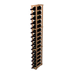 Wine Cellar Innovations - 1 Column Individual Magnum, Unstained, Rustic Pine - The 1 Column Magnum wooden wine rack allows for magnum bottle showcasing in the Designer Series Collection. This wooden wine rack is designed to support storage for wine bottles with a diameter range of 3 13/16, 4 1/8, and will also hold some oversized 750 ml bottles. The 1 Column Magnum wooden wine rack is 1 columns wide x 16 rows high. Product requires assembly. Please note: molding packages are available separately.