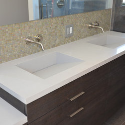 Shop Vanity Tops Side Splashes On Houzz