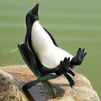 Chillin' Penguin Garden Sculpture with Bluetooth Speakers - Shipping is included in the price!