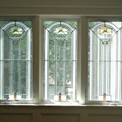 Art Glass Restoration - Original Design by George W. Maher