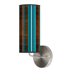 jefdesigns - Vertical Stripey 1 Wall Sconce - With this column of stripes on your wall, your decor will be elevated to a whole new level of chic. Tasteful and fun, this sconce will illuminate and provide spaciousness to your wall with its long lines and modern cylindrical shape.