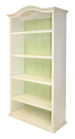 Newport Cottages Eco Bookcase - Don't you love this slender and elegant toy storage and bookshelf? Use it to hold baby toys all the way up to high school book collections. And though this white is so lovely, the piece comes in several colors with the option of painting the insides a contrasting hue.