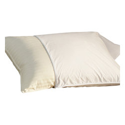 Pacific Coast - Restful Nights Essential Pillow Protector Super Standard or King, King - Prolong the life of your pillow with the Restful Nights Essential Pillow Protector. 100% cotton fabric provides all-natural breathability.
