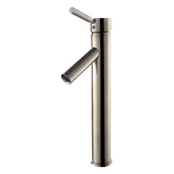 Kraus - Kraus FVS-1002SN Sheven Single Lever Vessel Faucet - Add a touch of elegance to your bathroom with a vessel sink faucet from Kraus