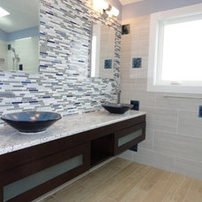 Contemporary Bathroom by Design Solution Group