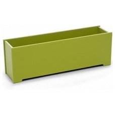 Loll Rectangle Planter & Loll Green Living Planters|YLiving