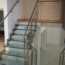 Contemporary Staircase by European Cabinets & Design Studios