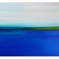 Cape San Blas (Original) by Margaret Myers - The beautiful landscape of Cape San Blas is my happy place.