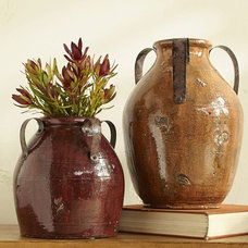 Eclectic Vases by Pottery Barn
