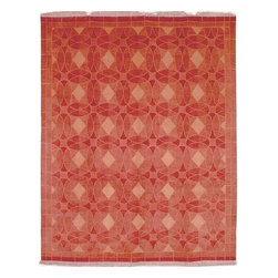 "Safavieh - Contemporary Tibetan Hallway Runner 2'6""x10' Runner Rust Area Rug - The Tibetan area rug Collection offers an affordable assortment of Contemporary stylings. Tibetan features a blend of natural Rust color. Hand Knotted of Wool the Tibetan Collection is an intriguing compliment to any decor."