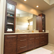 Bathroom Vanities And Sink Consoles by Venuti Woodworking