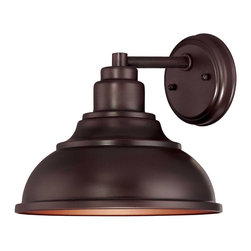 Savoy House - Savoy House 5-5631-DS-13 Dunston Dark Sky Wall Mount Lantern - Inspired by vintage designs, this Dark Sky rated outdoor light has clean lines and an English Bronze finish.