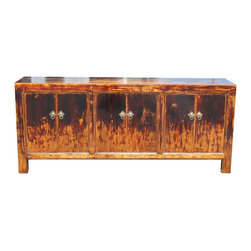 Mortise & Tenon - Segal Credenza - A one of a kind asian inspired crendenza.