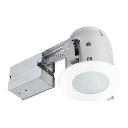 Globe Electric - Globe Electric 4.5 in. Recessed White Circular Shower Lighting Kit 90664 - Shop for Lighting & Fans at The Home Depot. Globe Electric 90663 4.5 in. Circular Shower Recessed Lighting Kit, Frosted Glass White Finish Quick and Easy Installation: includes extra-wide, patented clips that grip uneven holes and surfaces to secure effortlessly into position. Superior fit for a smarter, faster installation. Globe recessed light fixtures are the ideal choice for showers; light illuminates wide areas. This shower can recessed light fixture includes frosted tempered glass.