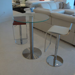 contemporary bar tables by CCS Architecture and Interior Design