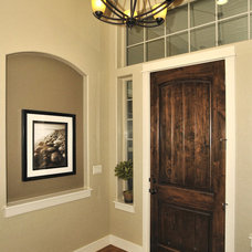 Traditional Entry by Boise Hunter Homes