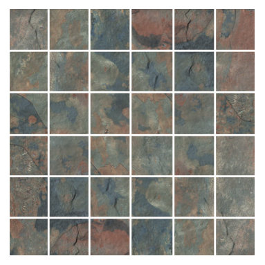 Raja Collection Kund Multi Mosaic - Raja replicates the exotic slate found in India thanks to the most advanced inkjet technology.