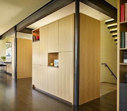 Contemporary Hall by NB Design Group, Inc