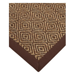 """Natural Area Rugs - """"Kerala"""" Sisal Rug, 100% Natural Fiber - All natural sisal rug handcrafted by Artisan rug maker. Naturally durable and anti-static, this earth friendly rug is great for high traffic areas. Enjoy this sisal rug with cotton border and non-slip dotted felt backing along with its stylish and contemporary look. Variations are part of the natural beauty of natural fiber. We recommend a rug pad as it will protect not only your rug but your hardwood floor as well."""