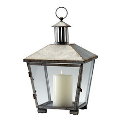 Cyan Design - Cyan Design 04945 Delta Iron Lantern - Features: