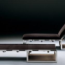 Flexform Chaises - Air chaise lounge by Flexform