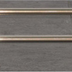 Top Knobs - Top Knobs Hopewell Bath 24 in. Double Towel Rod - Top Knobs Hopewell Bath 24 in. Double Towel Rod   Cabinet Hardware
