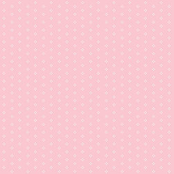 Pink and White Polka Dot - PP27730 - Collection:Pretty Prints 3