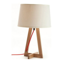 ParrotUncle - Contemporary Table Reading Lamps with Fabric Shade - Whether your eye is first drawn to the interesting design of the base, this lamp is an attention getter. Let it shine next to your couch or bed so you can enjoy it on a daily basis.