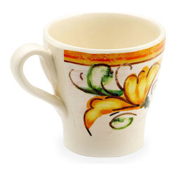 EGS - Tuscany 14 oz. 4 x 4 H Design Mug 4 x 4 h- Case of 6 - DescriptionsPatiently shaped by the hand of man over millennia the evocative landscape of Tuscany is one of the most beautiful and harmonious countrysides anywhere. This collection was developed and perfected with the aesthetic awareness of hand made pottery