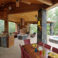Contemporary Patio by CG&S Design-Build