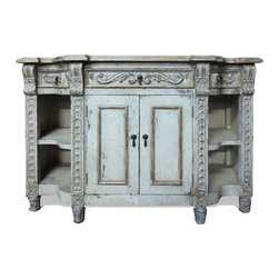 Buffets and Sideboards - A unique and creative blend of architectural and decorative design. See more eco-friendly furniture pieces and accessories at a local Houston showroom or online at www.KoenigCollection.com!