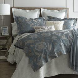 "SFERRA ""Peacock Jacquard"" Bed Linens -"