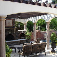 mediterranean outdoor lighting by Carolina Lighting Gallery