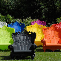 eclectic outdoor chairs by The Open Room